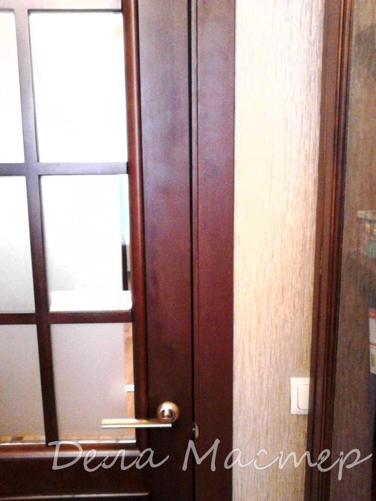 Реставрация двери восстановление от кошки