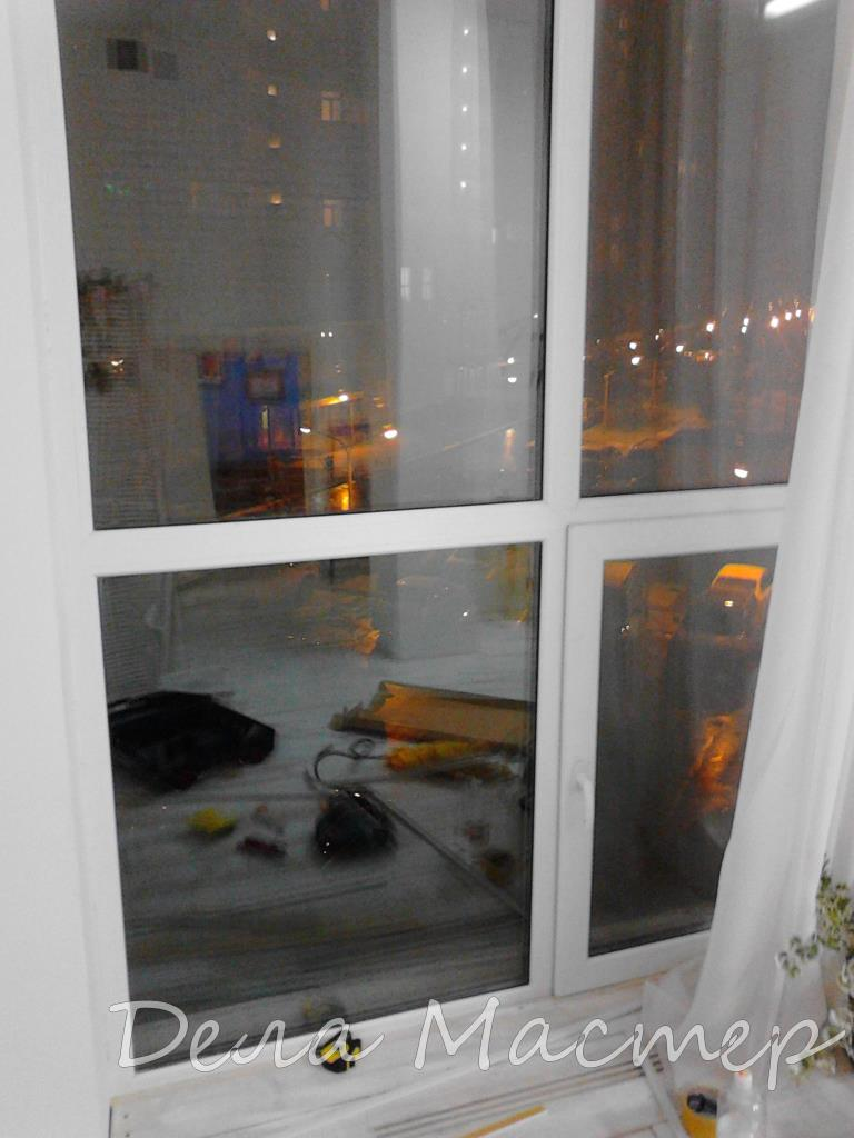 Переплет на окнах своими руками