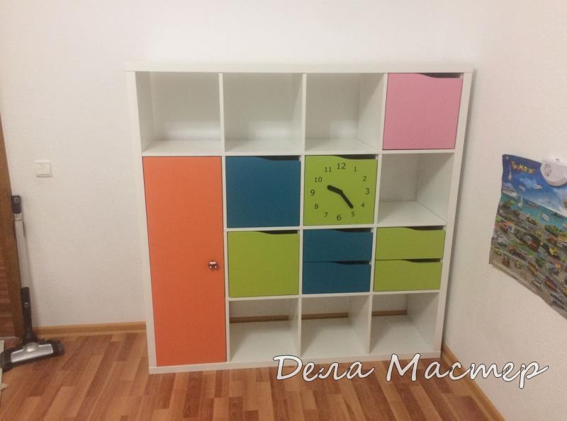 Детский шкафчик для одежды От Николая