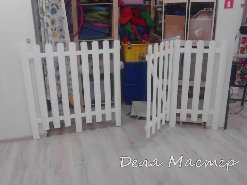 Детский забор для детского сада