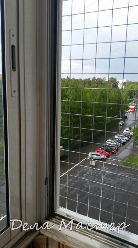Сетка на окно антикот