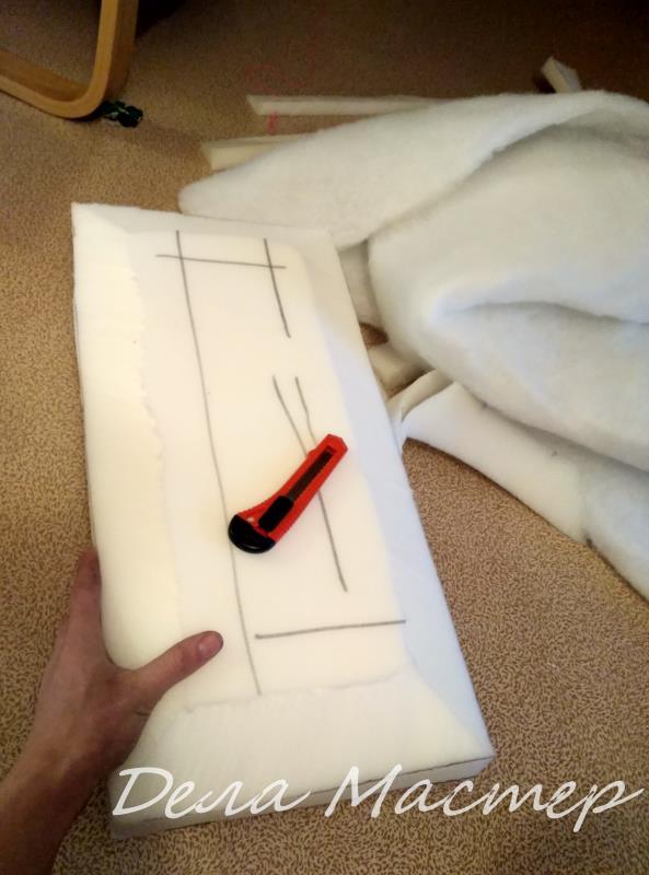 Поролон подушки